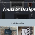 fonto portfolio worpdress theme